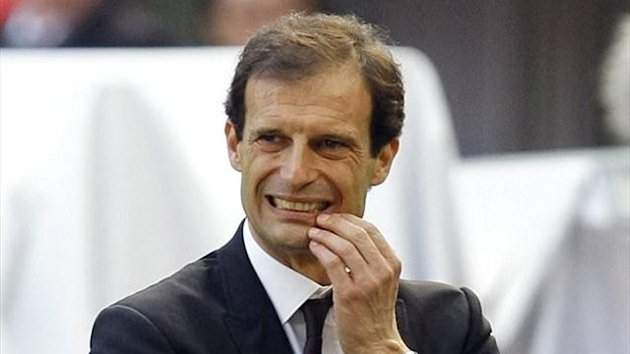 AC Milan coach Massimiliano Allegri (Reuters)