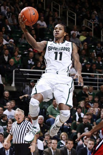 No. 15 Michigan St beats Louisiana-Lafayette 63-60