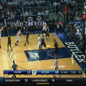 02/13/2016 Xavier vs Butler Men's Basketball Highlights