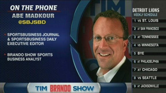 Abe Madkour on NFL officials, Jaguars games in London
