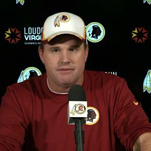 Washington Redskins head coach Jay Gruden: If RGIII can't play, Colt will start