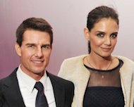 Tom Cruise and Katie Holmes are pictured during the &#39;Mission: Impossible - Ghost Protocol&#39; US premiere after-party at the Museum of Modern Art, in December 2011, in New York. Cruise and Holmes announced on Friday they were calling it quits after five years of marriage, ending an unexpected love story dogged by tabloid rumors