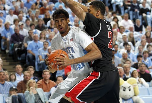 North Carolina beats No. 20 UNLV 79-73
