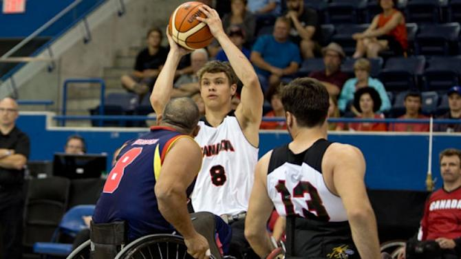Canadian Trail: Men lose to U.S. in wheelchair basketball final