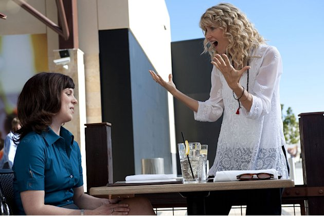 "Sarah Burns as Krista and Laura Dern as Amy in ""Enlightened."""