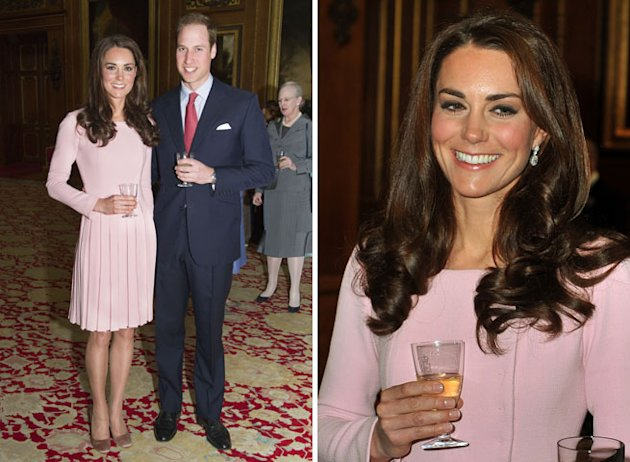 Kate Middleton Repeats Emilia Wickstead Dress For Buckingham Palace Garden Party