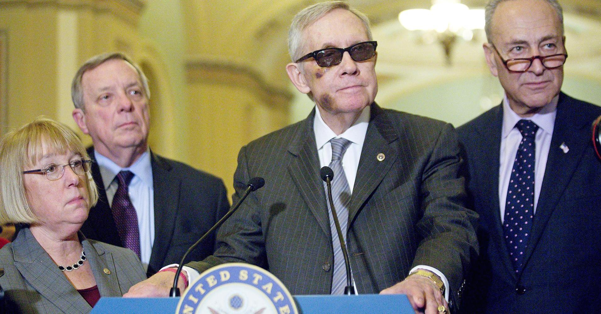 Harry Reid wants Senate deputies to 'just relax'
