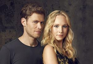 Joseph Morgan, Candice Accola | Photo Credits: Justin Stephens/The CW