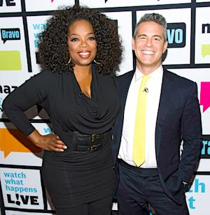Oprah Winfrey Jokes About Her Big Breasts on Watch What Happens Live