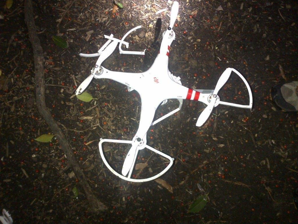 White House drone crash pilot works for US intel