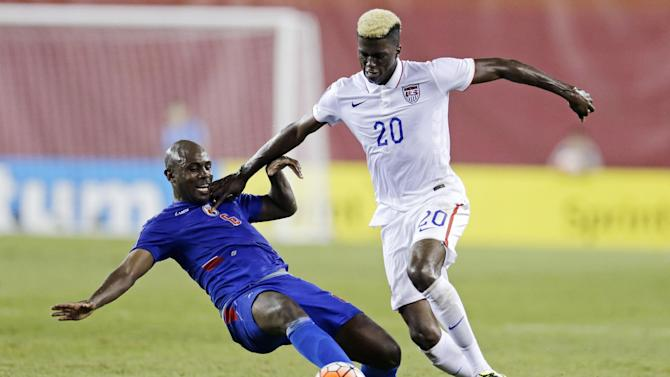 US beats Haiti 1-0 in Gold Cup, clinches group title