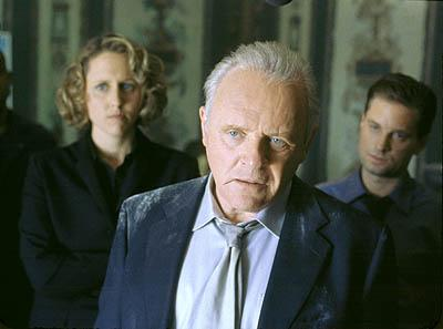 Brooke Smith , Anthony Hopkins and Gabriel Macht in Touchstone's Bad Company