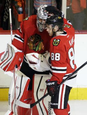 Crawford's steady play key to Blackhawks' run