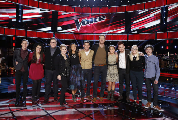 The Voice Top 11 iTunes Rankings: Who's at Risk?