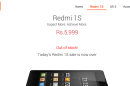 Xiaomi sells out 40,000 of its Redmi 1S in just one second.