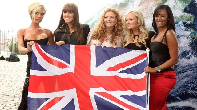 Spice Girl reunion headlines Olympic Closing Cermony