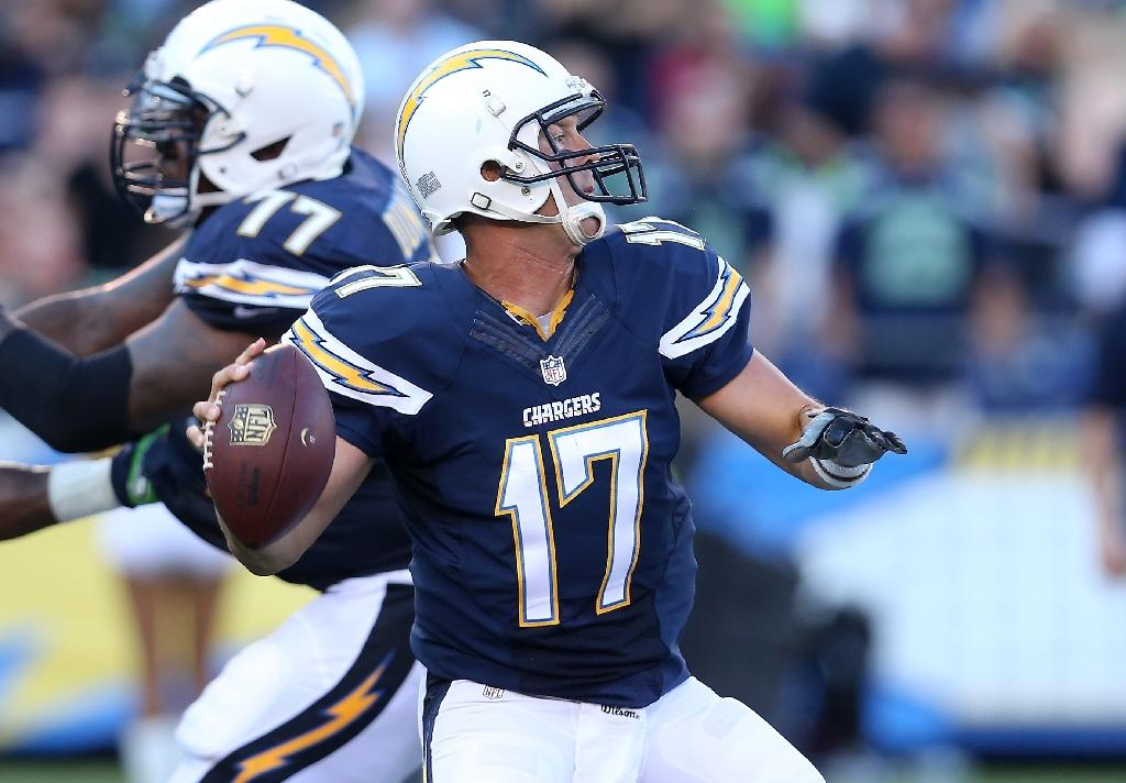 Chargers say Seahawks rookie attacked QB Rivers