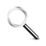 Why is Website Search So Hard To Do Well? image Magnifying glass Icon