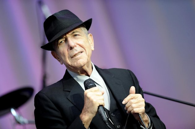 FILE - In this Aug. 18, 2010 file photo, singer Leonard Cohen performs open air at the Waldbuehne in Berlin. A Los Angeles jury convicted Cohen&#39;s former business manager Kelley Lynch of harassing the singer-songwriter by making hundreds of phone calls and sending emails, several of which were in violation of a restraining order. (AP Photo/DAPD, Kai-&#39;Uwe Knoth)