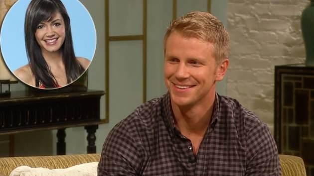 'Bachelor' Sean Lowe, inset: Desiree Hartsock -- Access Hollywood / ABC