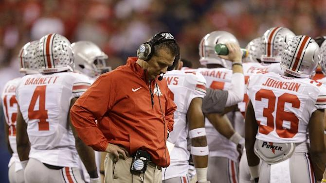 Ohio State's Meyer concedes he's 'awful loser'