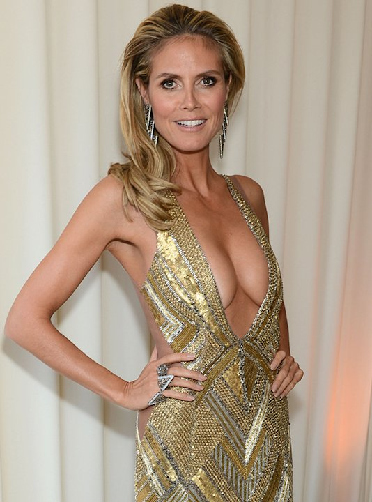 Heidi Klum's Oscars nipple slip was only outshined by her weight loss