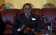 Malawi's President Bingu wa Mutharika, pictured last year, died early Friday, hours after the 78-year-old suffered a heart attack, a hospital source in the capital Lilongwe said.