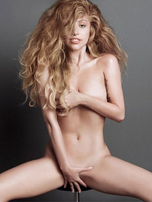Lady Gaga pictures naked for V Magazine shoot