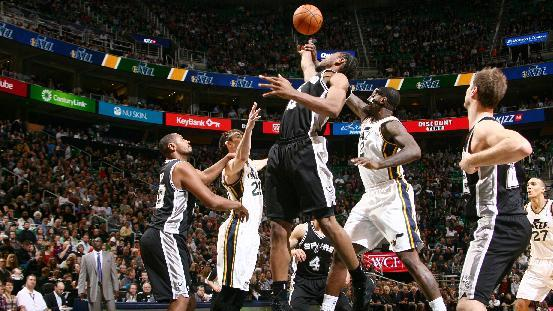 Parker leads Spurs past Jazz 91-82