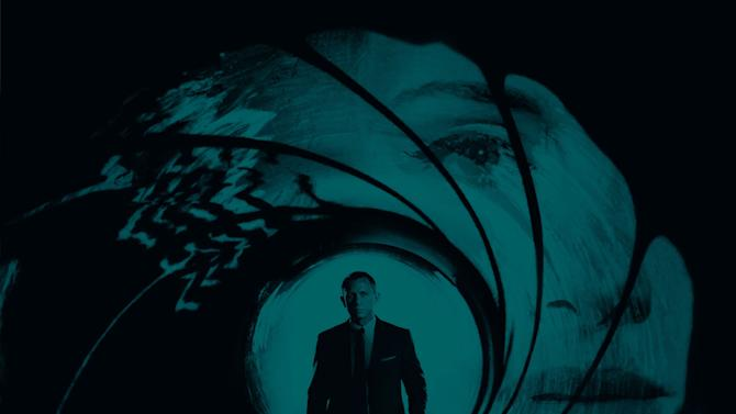 """This undated publicity photo released by Columbia Records shows the official theme song by Adele to the latest James Bond 007 feature film, """"Skyfall."""" After a year of Grammy glory and James Bond soundtracking, Adele has been voted The Associated Press Entertainer of the Year.  (AP Photo/Columbia Records)"""