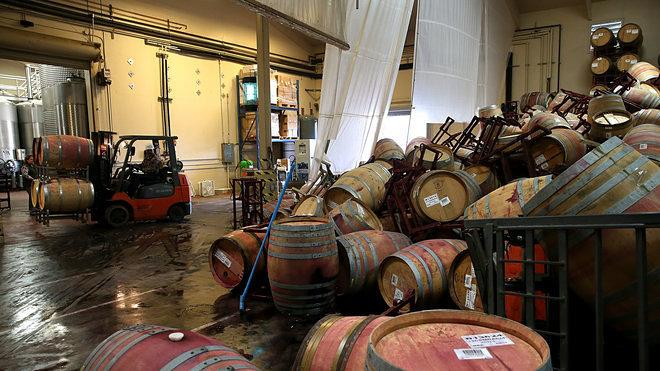 Recovery Wire: Napa's Restaurant and Wine Industry Begins to Rebuild After Earthquake