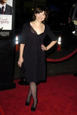Ginnifer Goodwin at the Hollywood premiere of Universal Pictures' In Good Company