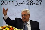 Palestinian leader Mahmud Abbas, pictured in July 2011, has said the Palestinians will approach the UN Security Council to seek full membership in the global body. Israel is willing to begin new Middle East peace talks using the 1967 lines as a basis for negotiations if the Palestinians drop their UN membership bid, according to an Israeli official