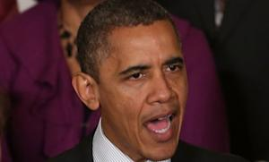 President Obama discusses the looming fiscal cliff on Nov. 9 from the White House.