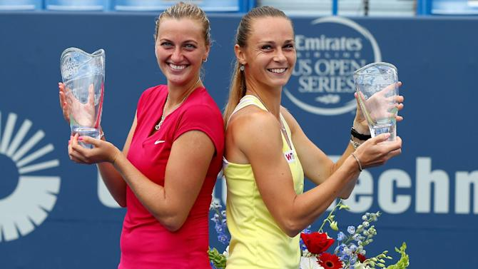Tennis - Wimbledon champ Kvitova takes New Haven title