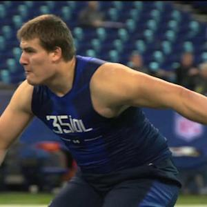 On the Clock: Center Ali Marpet and defensive end Randy Gregory's combine experience