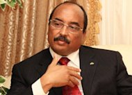 O presidente da Mauritnia, Mohamed Ould Abdel Aziz