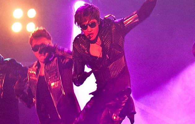 Kim showed why he was called the best dancer of ex-boyband SS501. (Photo courtesy of Running Into the Sun)