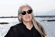 New Zealand director Jane Campion, at the Mipcom international audiovisual trade show, in Cannes. Women are reshaping the landscape of TV and digital entertainment as more and more female executives clinch top industry jobs around the world, as this year&#39;s Mipcom shows