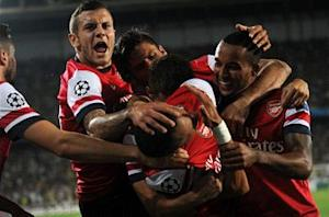 Fenerbahce 0-3 Arsenal: Gunners close in on group stages after impressive away win