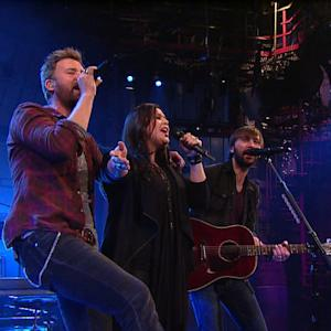 Live On Letterman - Lady Antebellum: And The Radio Played
