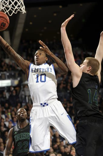 Notre Dame beats eighth-ranked Kentucky 64-50