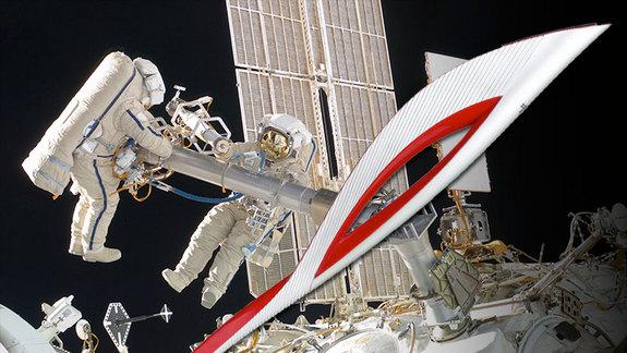 Cosmonauts May Carry Olympic Torch and 'Flame' on Spacewalk