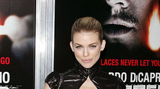 "AnnaLynne McCord attends the ""Shutter Island"" premiere at the Ziegfeld Theatre on February 17, 2010 in New York City."