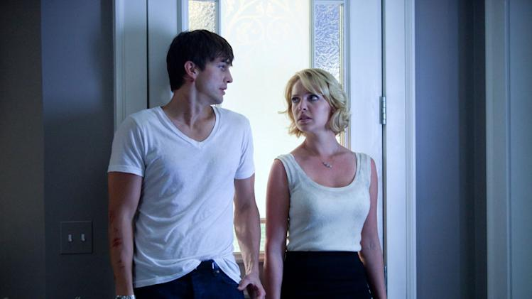 Ashton Kutcher Katherine Heigl Killers Production Stills Lionsgate 2010
