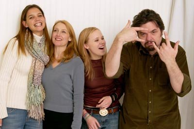 Katie Holmes, Patricia Clarkson, Allison Pill and Oliver Platt Pieces of April Sundance Film Festival 1/19/2003