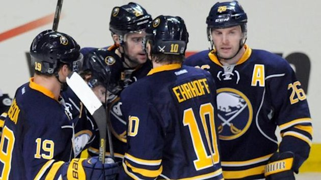 Buffalo Sabres players (Reuters)