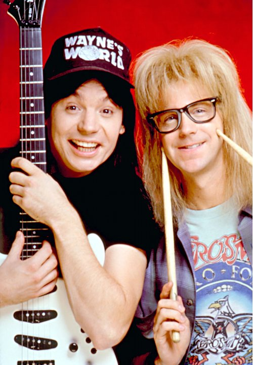 Wayne Campbell and Garth Algar …