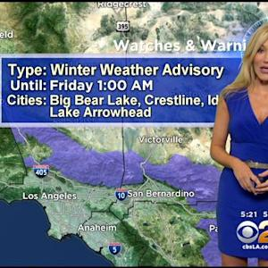 Jackie Johnson's Weather Forecast (Dec. 19)