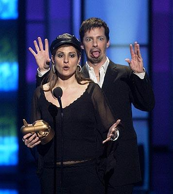 Nia Vardalos and Sean Hayes VH-1 Big in 2002 Awards - 12/4/2002